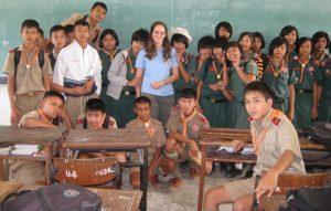 Engelse les geven in Thailand